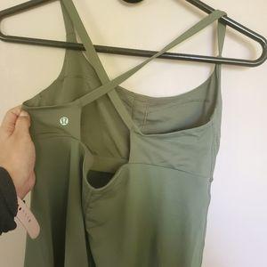 Lululemon Olive Green Tank 8